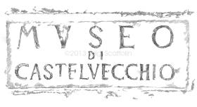 Castelvecchio Museum, entrance on Corso Cavour