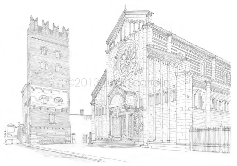 Dedicated to the patron of Verona, the basilica of S. Zeno is the prettiest in the city