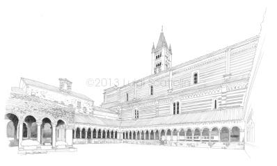 40 - Basilica of San Zeno, the cloister