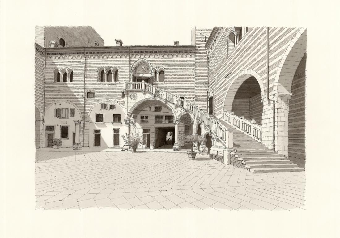 Verona - Scala della Ragione