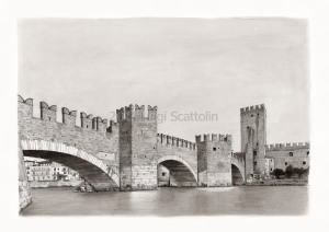 Verona Castelvecchio Ponte Scaligero