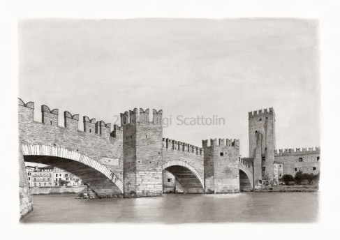 Verona - Scaliger Bridge