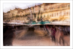 Verona, piazza delle erbe, fontana di Madonna Verona